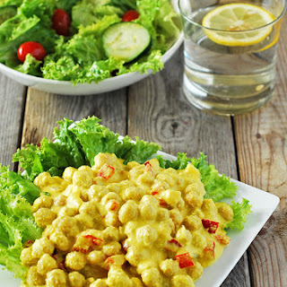 Curry Chickpea Salad.
