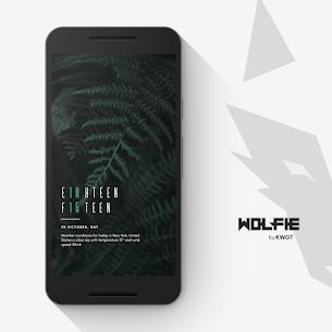 Wolfie for KWGT v2020.Apr.05.09 Mod APK Latest Version 2
