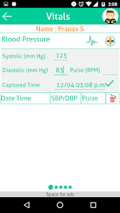 Track Your Vitals- screenshot thumbnail