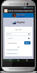 Rojmel Accounting screenshot 2