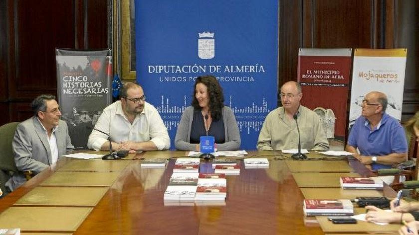 Presentación de las publicaciones este lunes en Diputación.e;cl