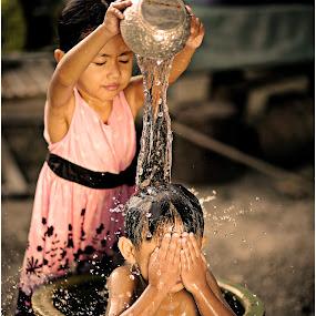 qoyyum & alya by Tuty Ctramlah - Babies & Children Children Candids ( kids in the summer, summer feel )