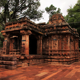 Temple at Mahakoota by Srivenkata Subramanian - Buildings & Architecture Places of Worship ( chalukya kings, heritage, 7th century, india, architecture )