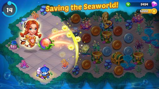 Merge Mermaids-design home&create magic fish life. screenshots 2