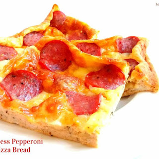 Flourless Pepperoni Pizza Bread