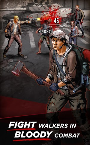 android Walking Dead: Road to Survival Screenshot 0