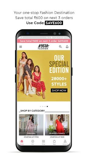 Nykaa Fashion u2013 Online Shopping App screenshots 1