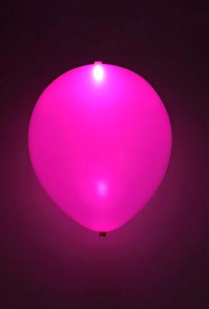LED-ballonger, lila