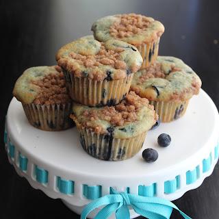Blue-Blueberry Muffins