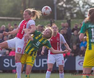 📷 Speelster ADO Den Haag heeft heel goede reden om voetbalschoenen aan de haak te hangen