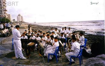 Photo: 2000 - Promenade inauguration with Band