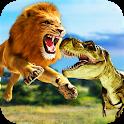 Ultimate Lion vs Dinosaur: Wild Adventure icon