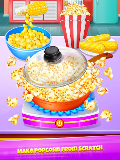 Popcorn Maker - Yummy Rainbow Popcorn Food 1.4 screenshots 2
