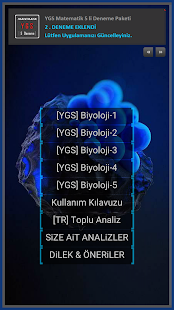 YKS Biyoloji Deneme - náhled