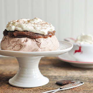 Chestnut Cream Pavlova Recipe