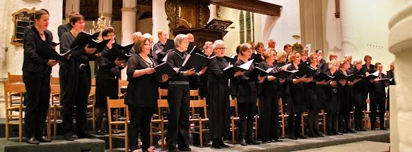 Photo: Jubileumconcert ter gelegenheid van het 40-jarig bestaan van de Barbara Cantorij o.l.v. Marijn Slappendel  - Culemborg 5 november 2011 - Foto's: Dik Hooijer