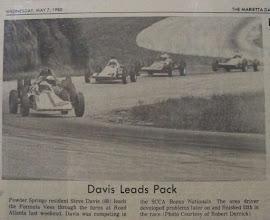 Photo: Contributed by Stevan Davis 1980 Marietta Daily Journal - Stevan Davis #80
