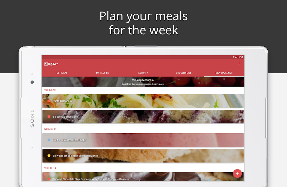 BigOven Recipes, Meal Planner, Grocery List & More screenshot 7