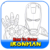 How To Draw Ironman