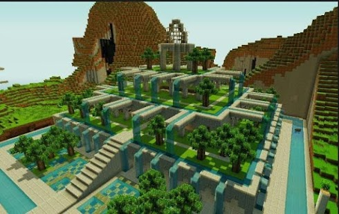 garden for minecraft build ideas screenshot thumbnail