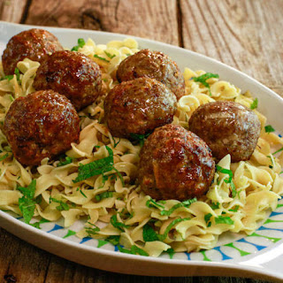 Kelsey Nixon's Pork and Apple Meatballs with Quinoa