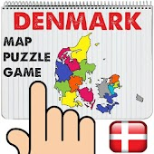 Denmark Map Puzzle Game Free