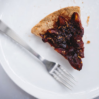 Spiced Plum Crostata And About My Diet
