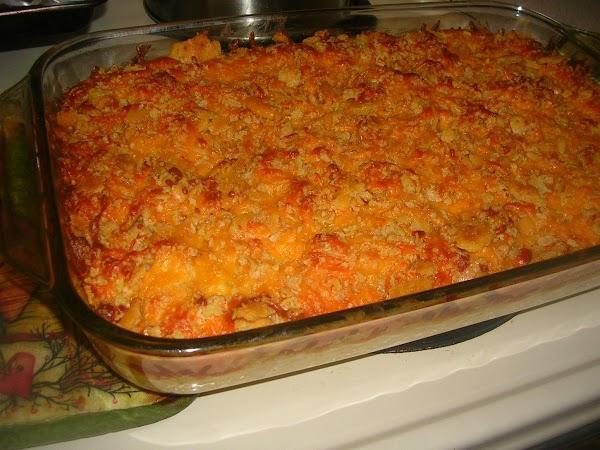 Southwest Chicken Hashbrown Casserole Recipe