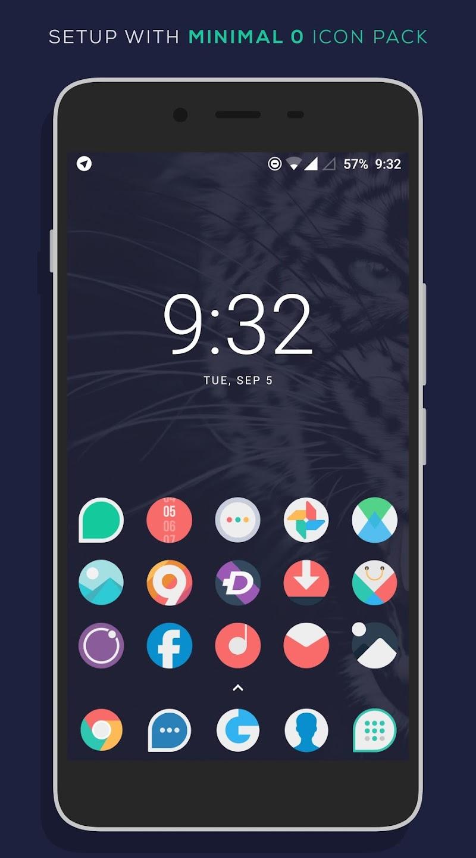 Minimal O - Icon Pack Screenshot 7