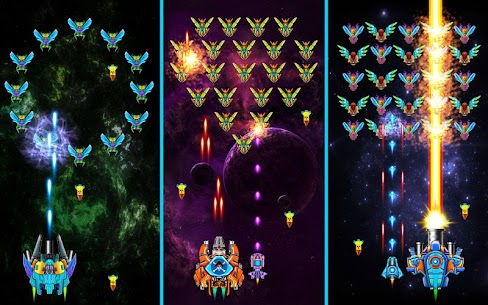 Galaxy Attack Alien Shooter Mod Apk 25.8 (Unlimited Money + Unlocked VIP-12) 7