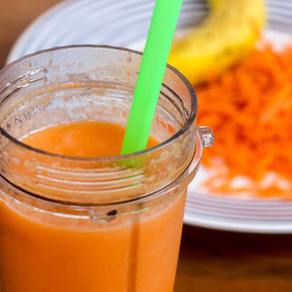 Carrot Ginger Collagen Glow Smoothie.
