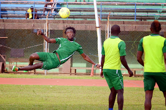 Photo: Kei Kamara  [Leone Stars Training Camp in advance of Tunisia Game, June 2013 (Pic: Darren McKinstry)]
