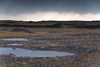 Photo: Visitando la zona antes de llegar a la Laguna Glaciar de Jökulsárlón.