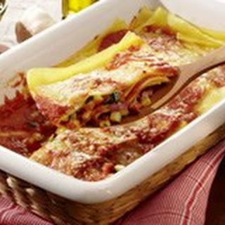 Gefüllte Lasagnetaschen