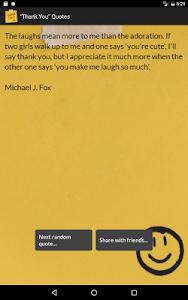 """Thank You"" Quotes screenshot 9"