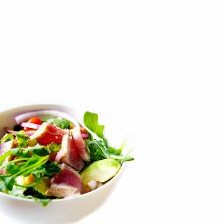 Garden Fresh Salad with Seared Tuna