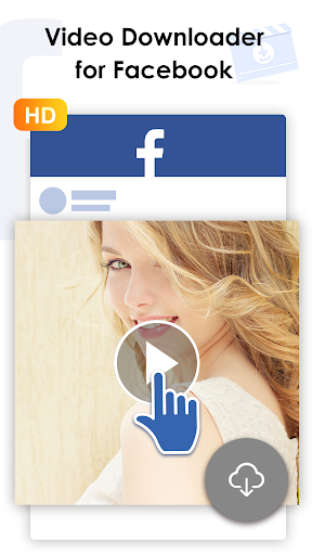 Video Downloader for FB - Download & Repost download offline 1