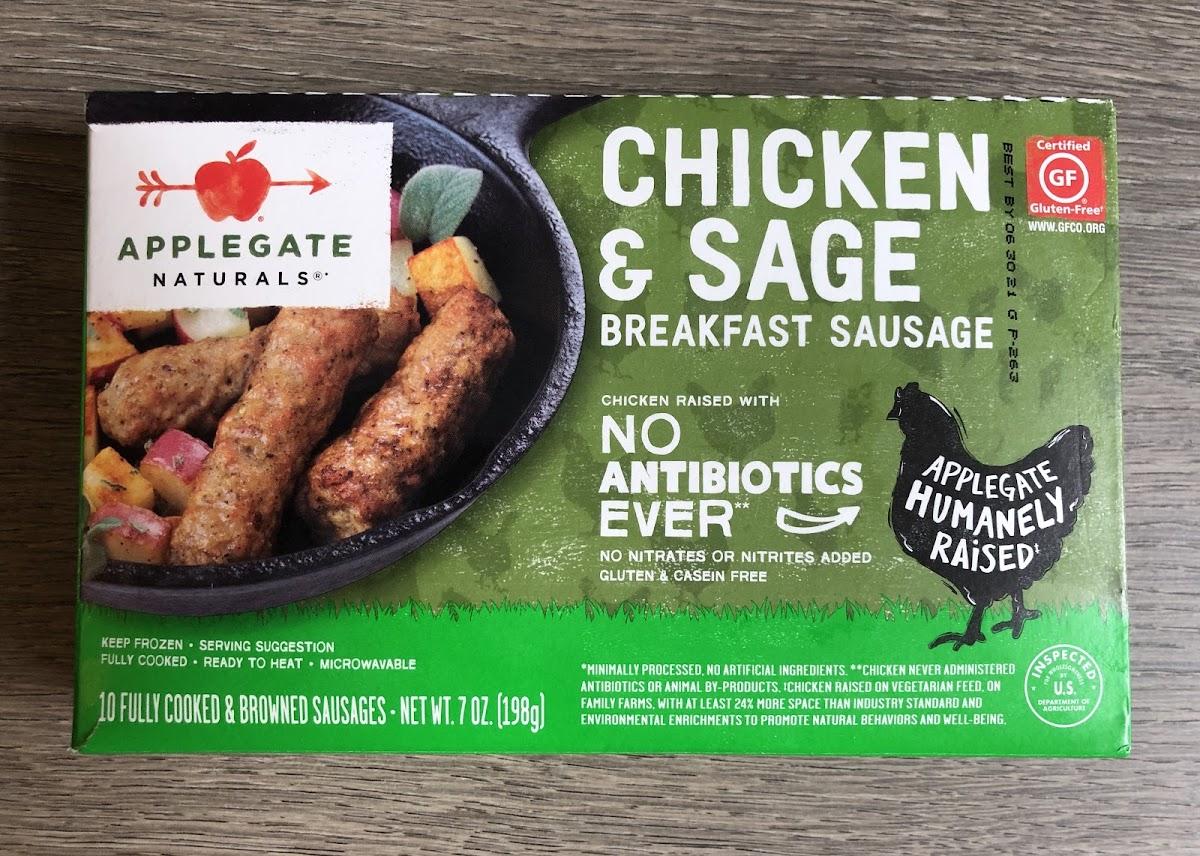 Chicken & Sage Breakfast Sausage