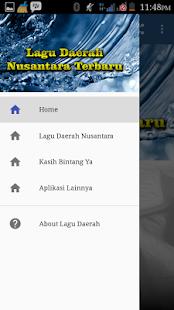 Lagu Daerah Nusantara Terbaru Screenshot