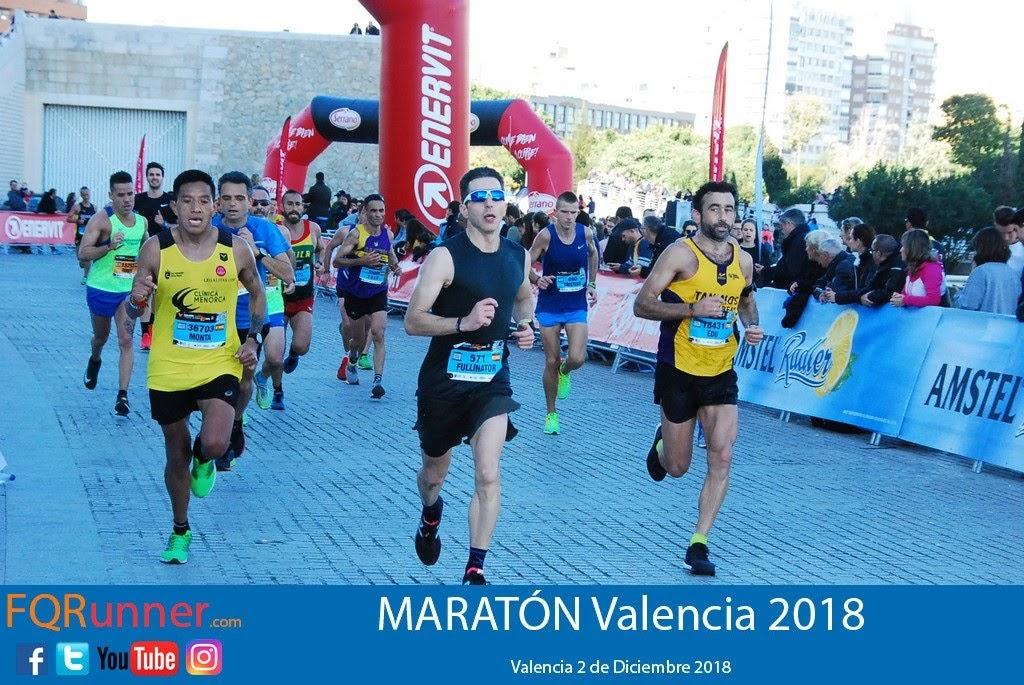 Fotos Maratón Valencia 2018