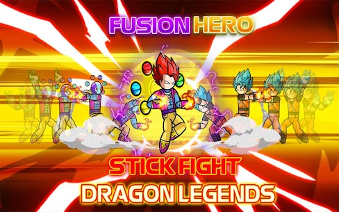 Stickman Fight : Dragon Legends Battle 9