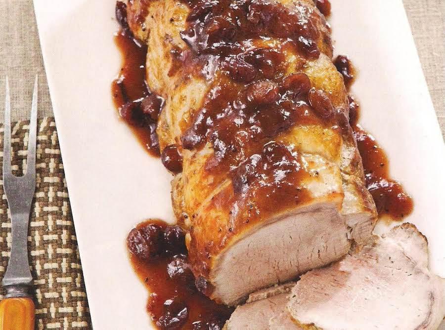 Pork Loin With Cranberries And Orange Crock Pot Recipe