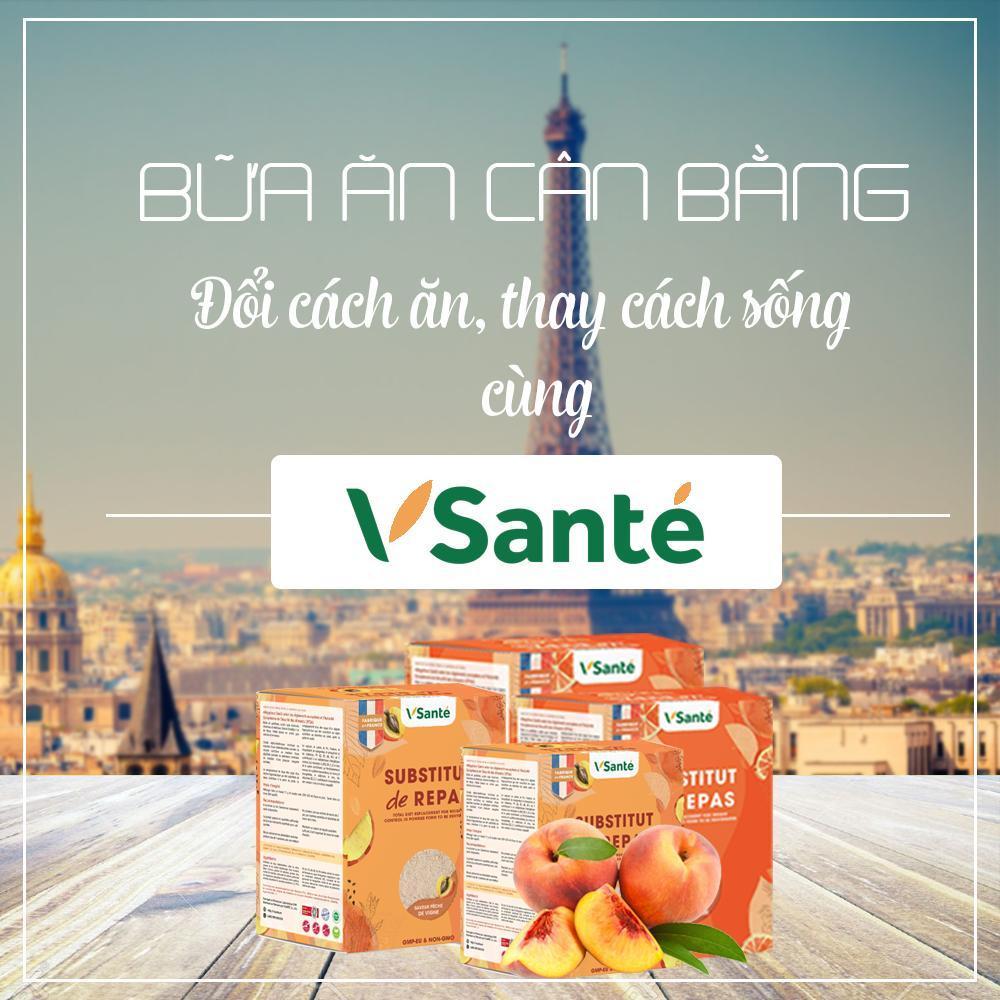 bữa ăn cân bằng VSanté giúp tăng cường hệ miễn dịch