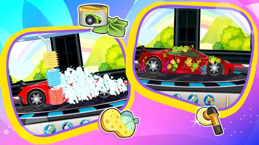 Car Games: Clean car wash game for fun & education screenshot 3