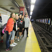 Photo: Kare Kits Team travels to NY City -  Ava D'Eon, Mia Losey, Lauren Fleury, Rachel Hinckley, Kylee McCumber and Jack Murphy.