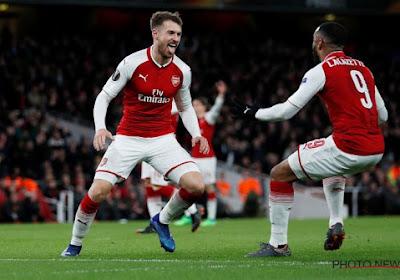 Ramsey en Lacazette schenken Arsenal de zege, de Gunners wippen over Tottenham en Manchester United in het klassement