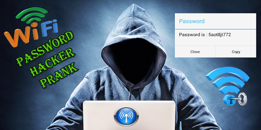 wifi Password hacker prank apk screenshot 1