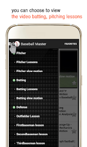 Baseball Master - Video Lesson screenshot 1