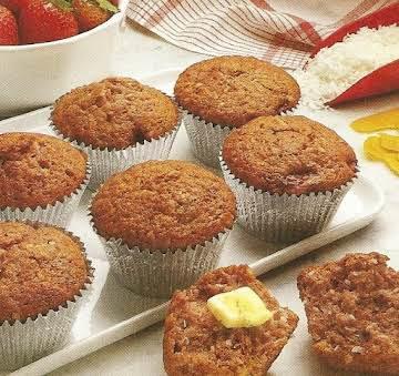 Strawberry Ambrosia Muffins