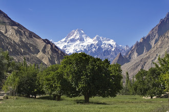 Photo: First view of Masherbrum (K1) past Macholo